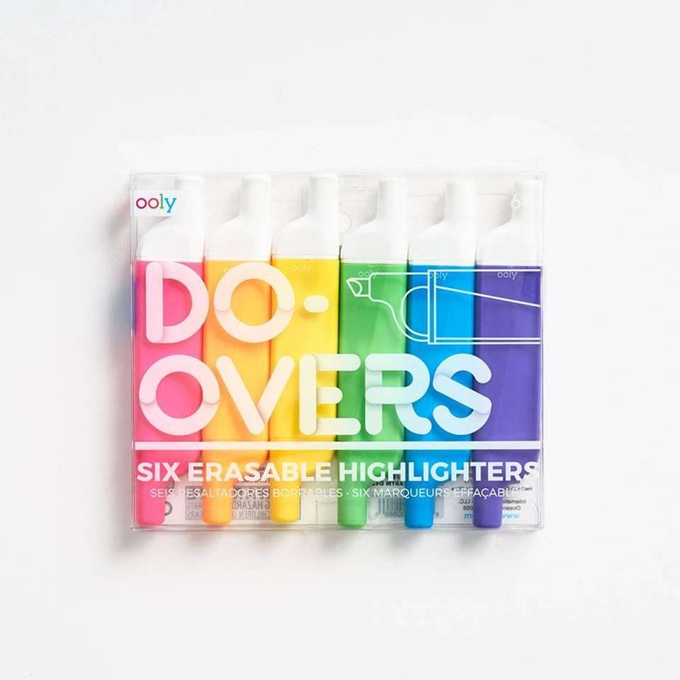 This set of six highlighters helps keep notes