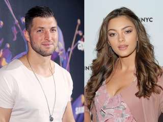 Minor-league baseball player Tim Tebow is dating Demi-Leigh