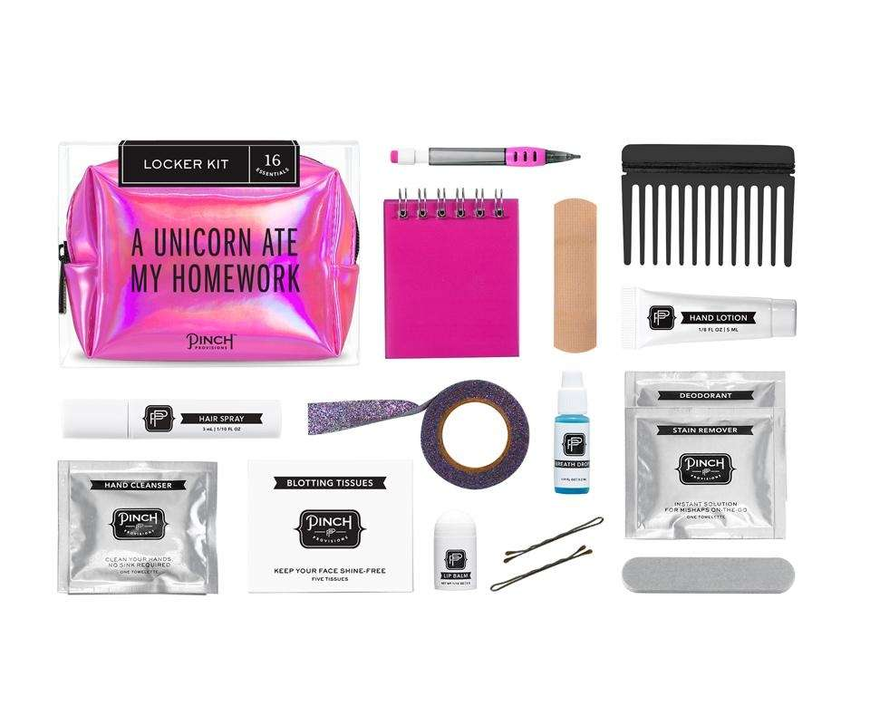 The Locker Kit by Pinch Provisions contains 16