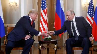 President Donald Trump and Russian President Vladimir Putin