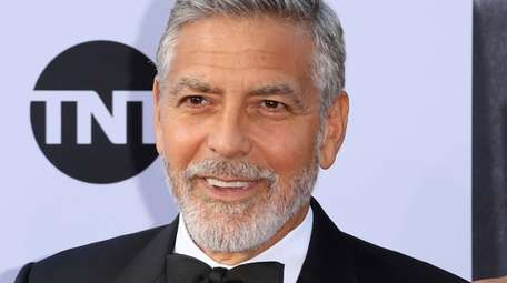 George Clooney attends the AFI Life Achievement Award