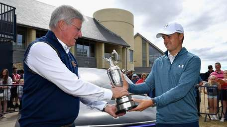 Jordan Spieth, winner of the 146th Open Championship,