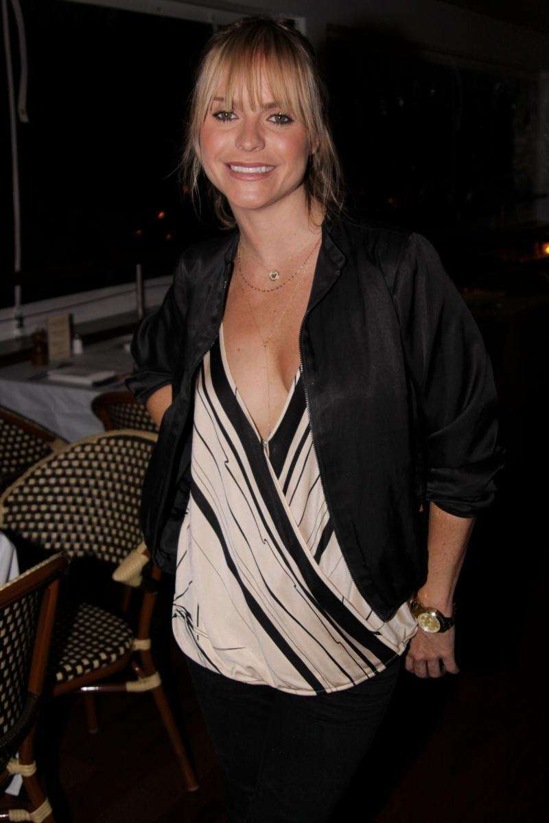 Actress Taryn Manning at The Boathouse in East