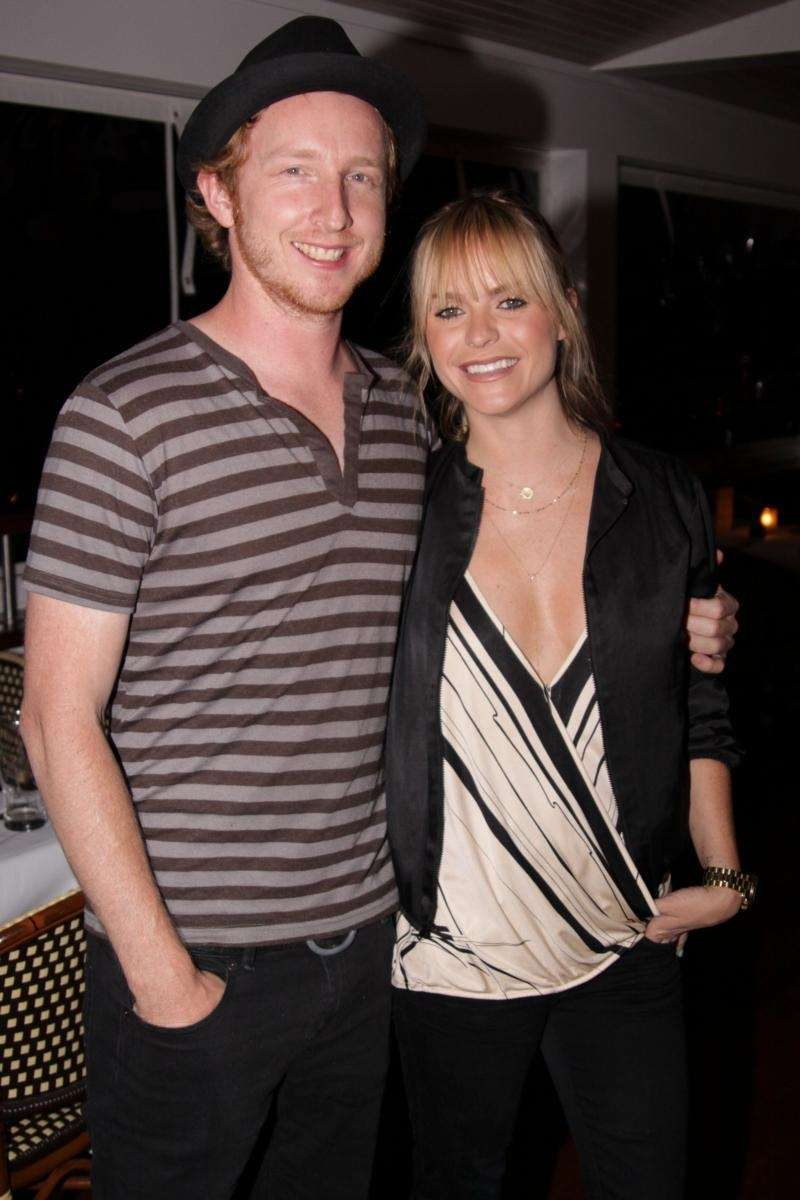 Michael Linney and actress Taryn Manning at The