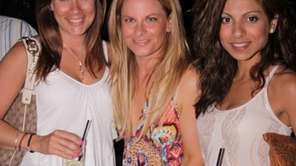 Kendell Feld, Kayley Ehenberg and Karisnna Sajnani at
