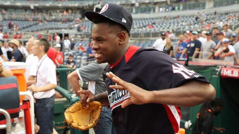 Luis Severino of the Yankees and the American