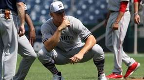 Aaron Judge of the Yankees and the American