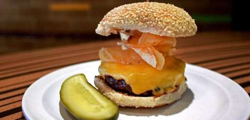 The Crunchburger is among the offerings at Bobby's