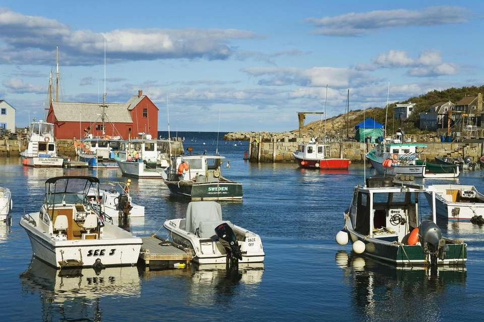 Historic Rockport, Massachusetts happens to be a perfect