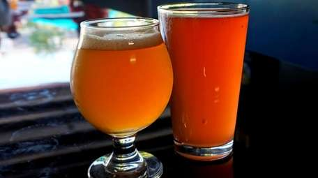A pair of ales at North Fork Brewing