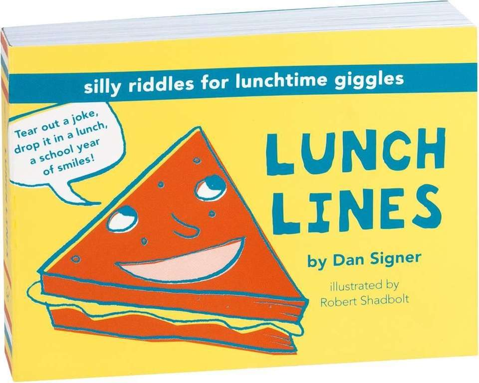 Kids will enjoy silly riddles at lunch time