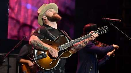 Musician Zac Brown leads the Georgia-based band bearing
