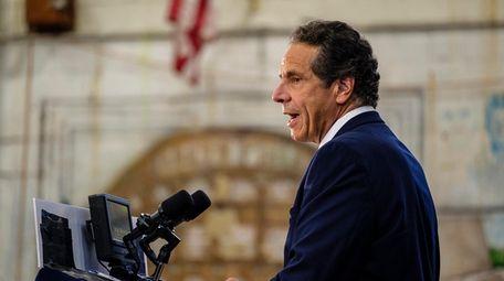 Gov. Andrew M. Cuomo, seen in Brooklyn on
