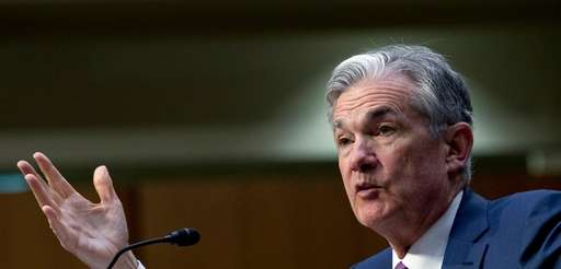 Federal Reserve Board Chairman Jerome Powell testifies before