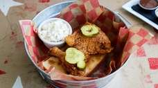 Nashville Hot Chicken, a spicy drumstick and thigh
