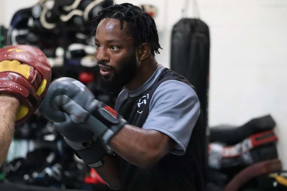 Andre Harrison appears at the PFL 4 open