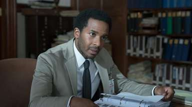 "Andre Holland stars in Hulu's ""Castle Rock."""