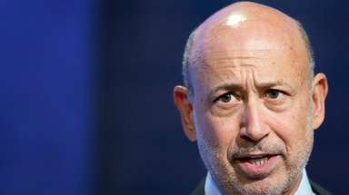 Lloyd Blankfein, chairman and CEO of Goldman Sachs,