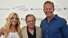 Ramy Brook Sharp, Dr. Samuel Waxman and Chris