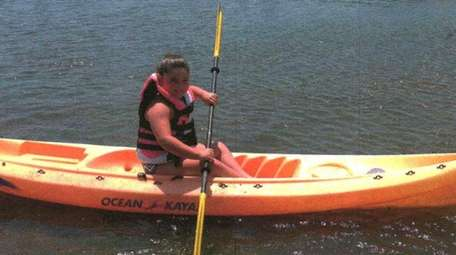 Kidsday reporter Ava Rella enjoys kayaking.