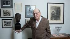 Henry Morgenthau III in his home in Washington,