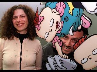 ''Rugrats'' creators Arlene Klasky and Gabor Czupo,