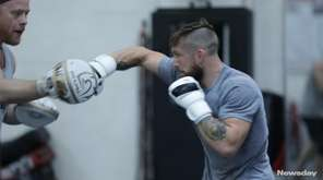 PFL 4 fighters worked out at Longo &