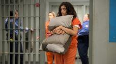 """Laura Gomez plays Blanca in Netflix's """"Orange Is"""