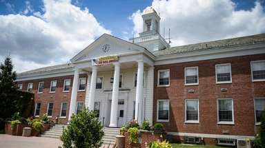 Babylon Town Hall in Lindenhurst is shown on