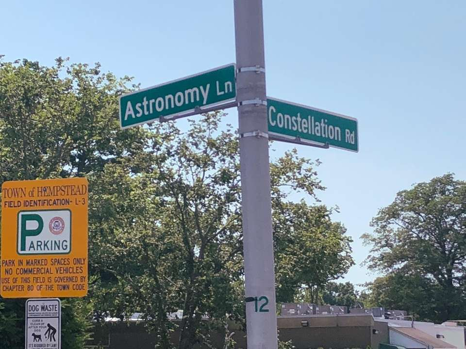 ...You could live on Astronomy Lane or Constellation