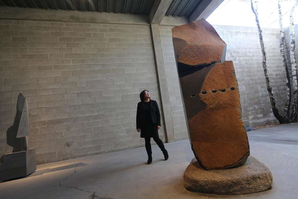 The Noguchi Museum in Long Island City displays