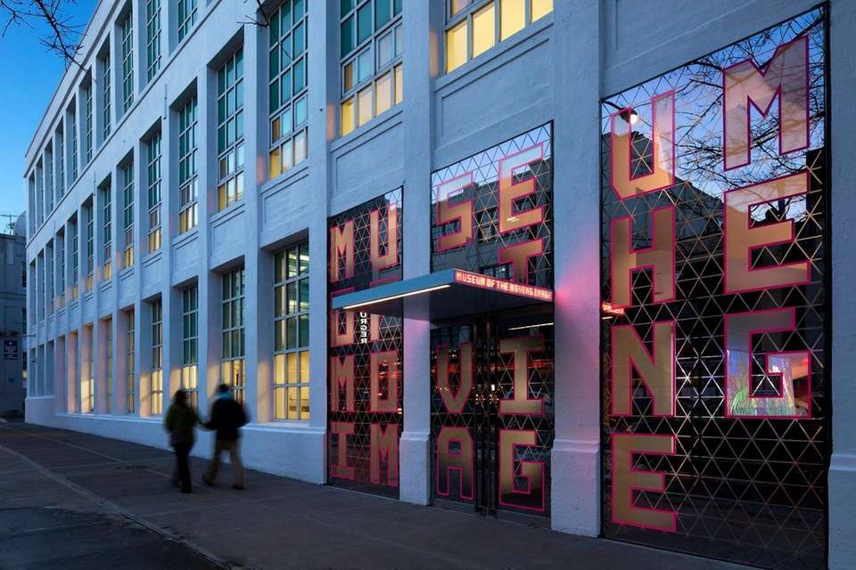 The Museum of the Moving Image is the