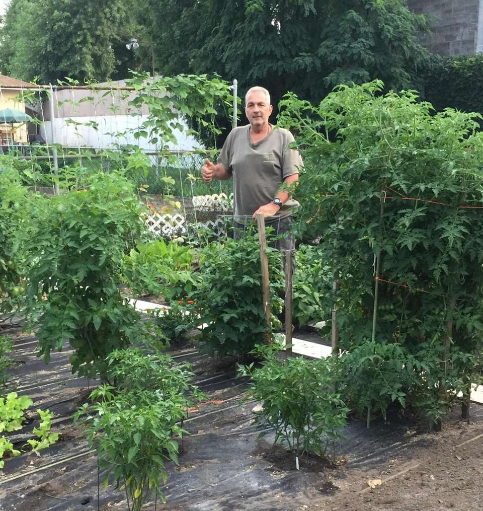 Anthony DiCocco of North Bellmore in his 750-square-foot
