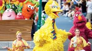 At Sesame Place in Langhorne, PA, the daily