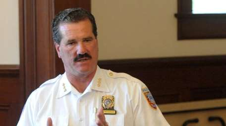 Martin Flatley, chief of the Southold Police Department,