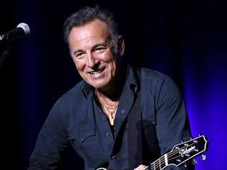 Bruce Springsteen, pictured on Nov. 10, 2015,