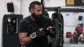 Alex Nicholson appears at the PFL 4 open