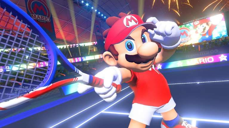 Mario Tennis Aces takes a light-hearted swing at