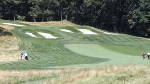 Hole No. 15 was the most challenging for
