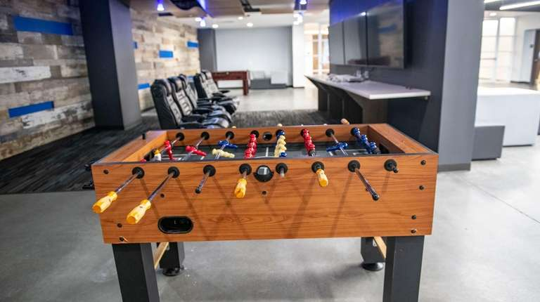 Play space at Dealertrack headquarters in North Hills,
