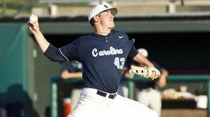 North Carolina pitcher Matt Harvey was drafted No.
