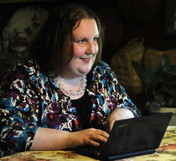 Amanda Marsh, 27, who was diagnosed with Non-Hodgkins