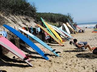 FLEETS COVE BEACH, off Fleets Cove Road, Huntington,