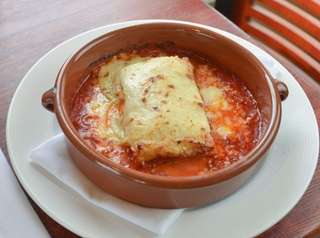 Light, refined lasagna Bolognese is among the top
