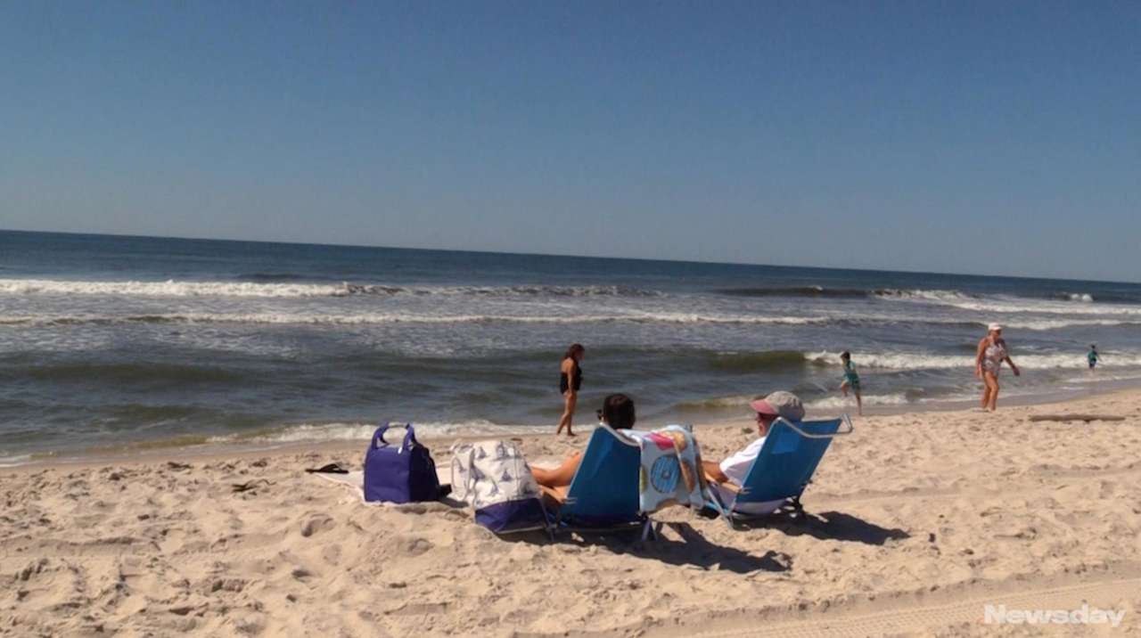 On Thursday, Long Islanders headed to the beaches