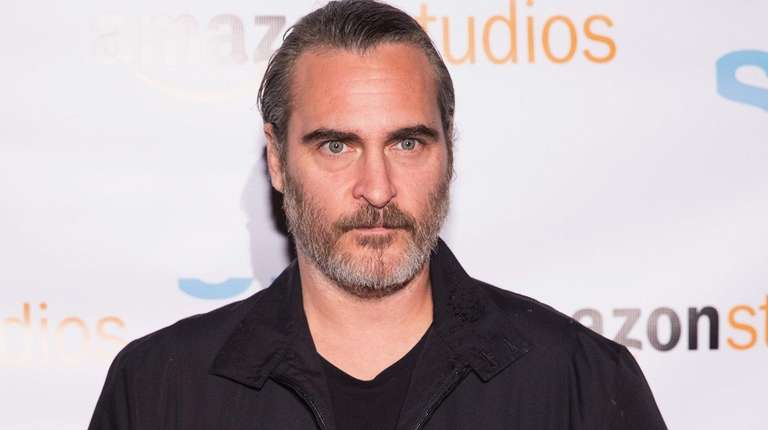 Actor Joaquin Phoenix at a Seattle screening