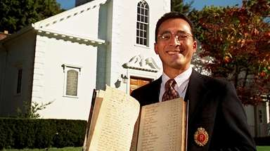 The Rev. Allan B. Ramirez, seen here on