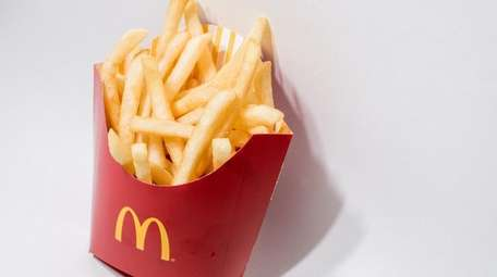 McDonald's is giving away free fries every Friday