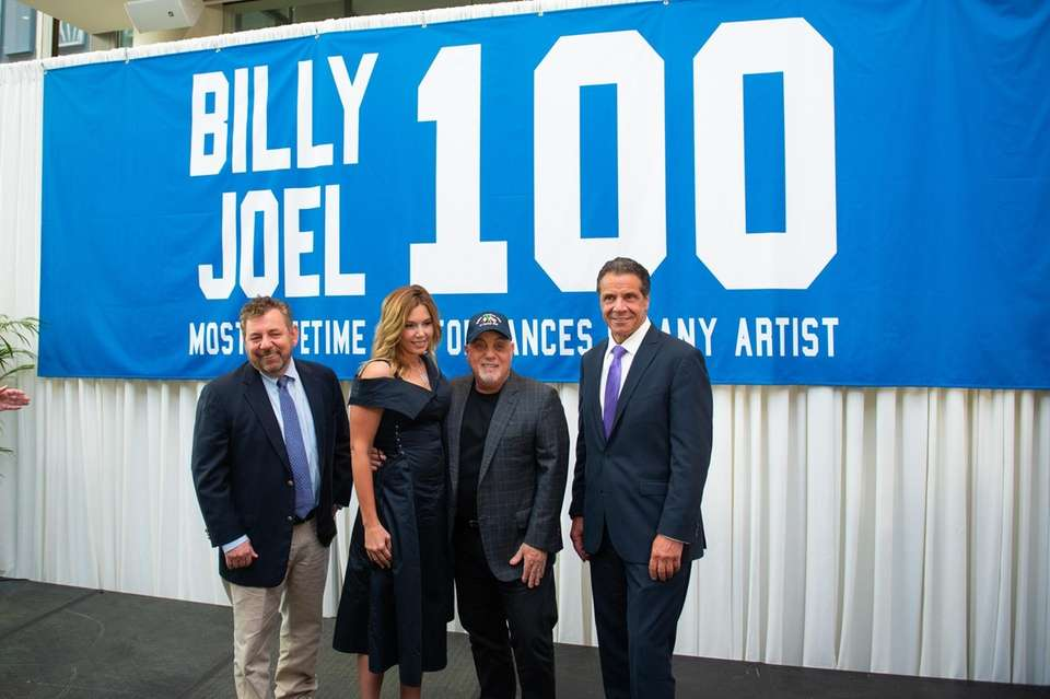 MSG executive chairman and CEO James Dolan, Billy