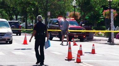 A pedestrian was struck on Main Street and